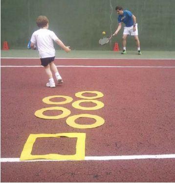 Le tennis des 4-6 ans