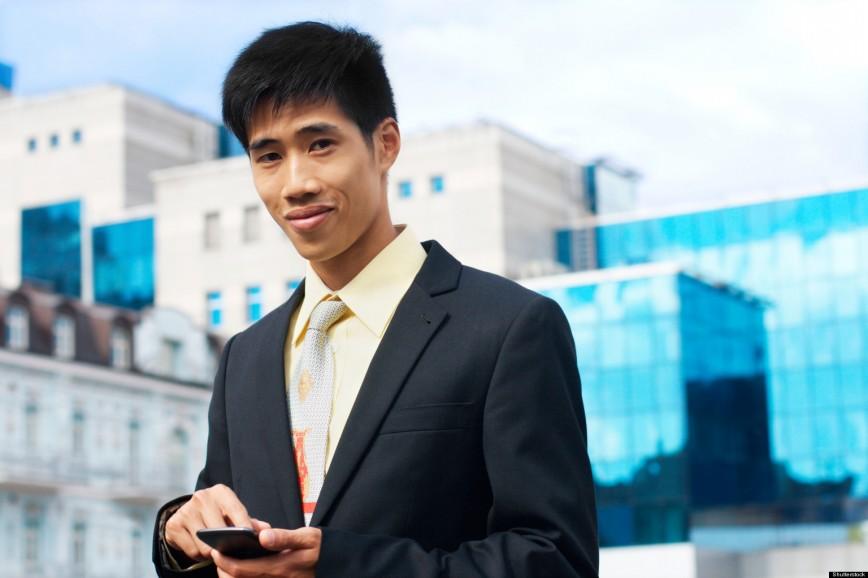 Premier jour de stage pour ce jeune homme.  Crédit photo : Huffington Post.