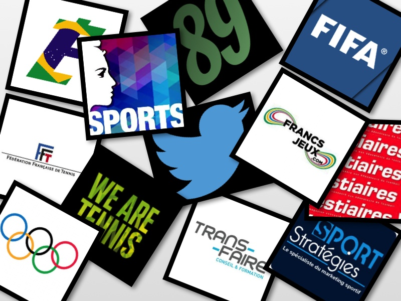 twitter actualités sport collage