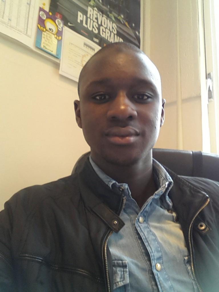 Moussa Sylla dans ses locaux