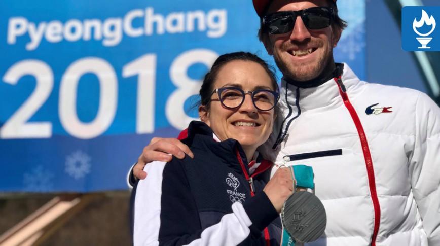Marie Martinod et Romain Hurtault en mode happy