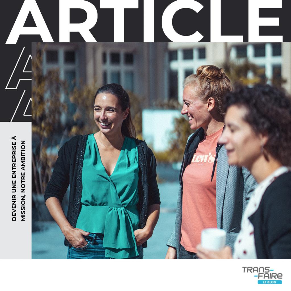Actualité de la newsletter Trans-faire / septembre 2021